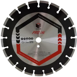 DIAM Асфальт ProLine 030631 1A1RSS алмазный круг для асфальта 400мм Diam По асфальту Алмазные диски