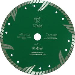 DIAM Alligator 000477 алмазный круг для гранита 125x2,5x8,0xM14 c фланцем Diam По граниту Алмазные диски