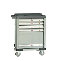 ATIS CT804 Инструментальная тележка 450кг, 5 полок, 800*485*1200мм Atis Мебель металлическая Сервисное оборудование