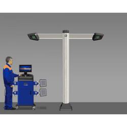 Техно Вектор 7 (V 7212 T 5 A) Стенд для сход-развала с технологией 3D Технокар Стенды сход-развал Автосервисное оборудование