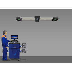 Техно Вектор 7 (V 7202 K 5 A) Стенд для сход-развала с технологией 3D Технокар Стенды сход-развал Автосервисное оборудование