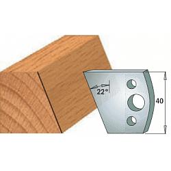 Комплекты ножей и ограничителей серии 690/691 #001 CMT Ножи и ограничители для фрез 40 мм Ножи