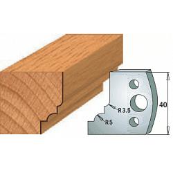 Комплекты ножей и ограничителей серии 690/691 #020 CMT Ножи и ограничители для фрез 40 мм Ножи