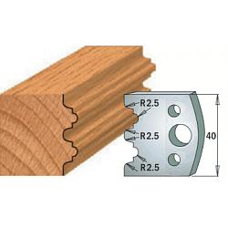Комплекты ножей и ограничителей серии 690/691 #108 CMT Ножи и ограничители для фрез 40 мм Ножи