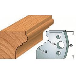 Комплекты ножей и ограничителей серии 690/691 #111 CMT Ножи и ограничители для фрез 40 мм Ножи