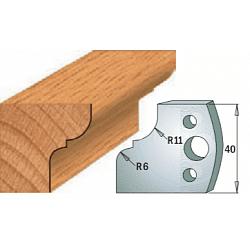 Комплекты ножей и ограничителей серии 690/691 #112 CMT Ножи и ограничители для фрез 40 мм Ножи