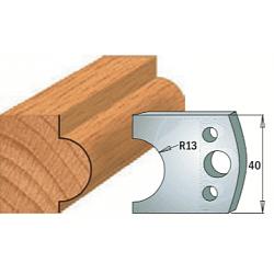 Комплекты ножей и ограничителей серии 690/691 #119 CMT Ножи и ограничители для фрез 40 мм Ножи