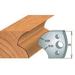Комплекты ножей и ограничителей серии 690/691 #120 CMT Ножи и ограничители для фрез 40 мм Ножи