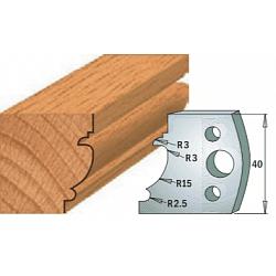 Комплекты ножей и ограничителей серии 690/691 #121 CMT Ножи и ограничители для фрез 40 мм Ножи