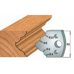 Комплекты ножей и ограничителей серии 690/691 #125 CMT Ножи и ограничители для фрез 40 мм Ножи