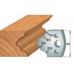 Комплекты ножей и ограничителей серии 690/691 #126 CMT Ножи и ограничители для фрез 40 мм Ножи