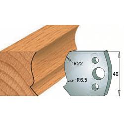 Комплекты ножей и ограничителей серии 690/691 #128 CMT Ножи и ограничители для фрез 40 мм Ножи