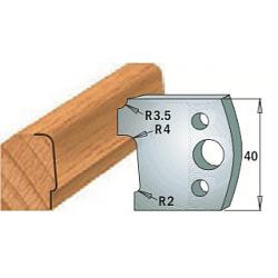 Комплекты ножей и ограничителей серии 690/691 #130 CMT Ножи и ограничители для фрез 40 мм Ножи
