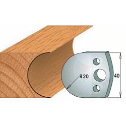 Комплекты ножей и ограничителей серии 690/691 #131 CMT Ножи и ограничители для фрез 40 мм Ножи
