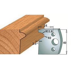 Комплекты ножей и ограничителей серии 690/691 #135 CMT Ножи и ограничители для фрез 40 мм Ножи