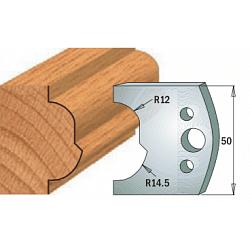 Комплекты ножей и ограничителей серии 690/691 #519 CMT Ножи и ограничители для фрез 50 мм Ножи