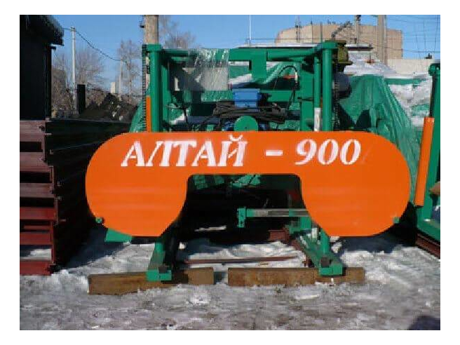 Алтай-900 Ленточная пилорама Алтай Пилорамы Ленточное пиление
