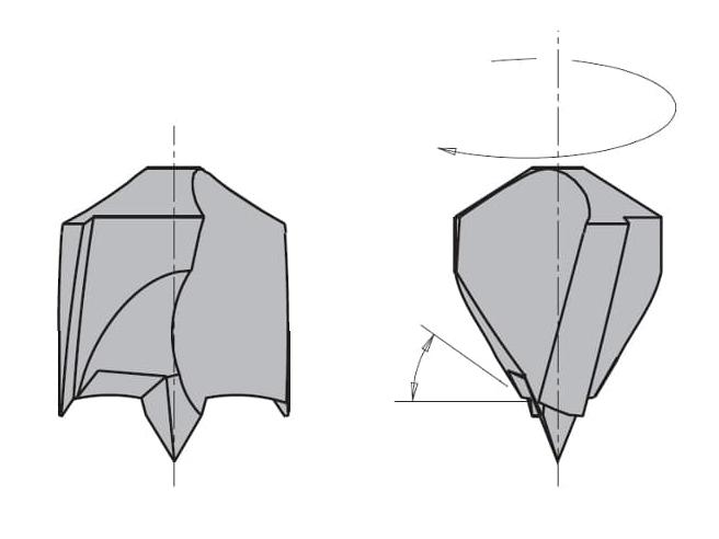 L=85 S=Ø10x27 Глухие свёрла CMT Свёрла и зенкеры Инструмент