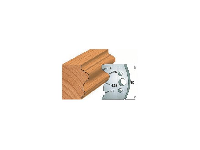 Комплекты ножей и ограничителей серии 690/691 #512 CMT Ножи и ограничители для фрез 50 мм Ножи
